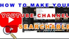 How to Make a YouTube Channel Searchable