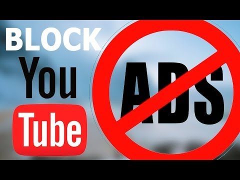 how to block youtube ads